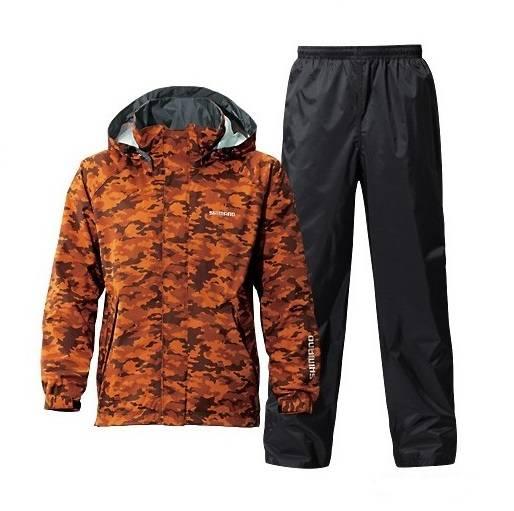 Костюм SHIMANO® DryShield RA027M темно-оранжевый